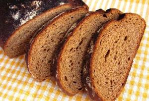 Orange Rye Batter Bread