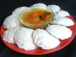 Homemade South Indian Idli