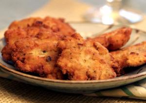 Crispy Fish Fritters