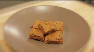 Salted Cashew & Caramel Blondies