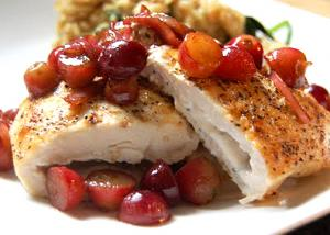 Chicken With Grape Sauce