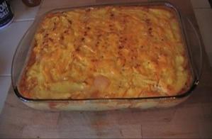 Sausage Polenta Casserole