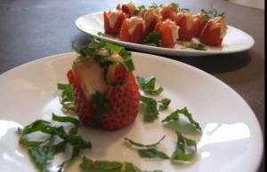 Tasty Stuffed Strawberries
