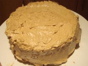 Applesauce Cake With Penuche Frosting