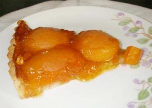 Quick Apricot Torte