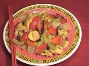 Hot And Sour Chicken Stir Fry