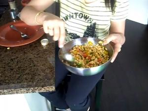 Soybean Salad / Healthy Salad / Indian Salad