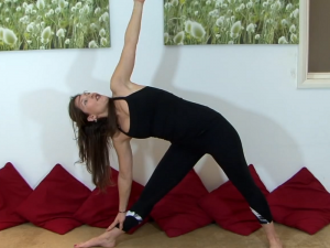 Yoga for Flexibility : Triangle Pose