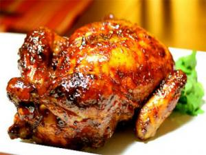 Honey Barbecued Broilers