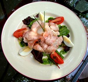 Festive Shrimp Salad