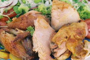 Baked chicken eastern