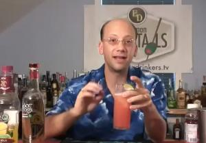 Twisty Sex On A Mexican Beach Cocktail
