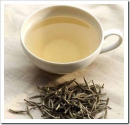 A clear cup of Japanese white tea