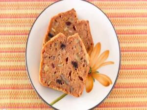 Sugar-Free Carrot Cake (Pound Cake)