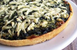 Spinach-Parmesan Pie