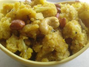 Semolina Vegetable Porridge - My Taste Of Yellow!