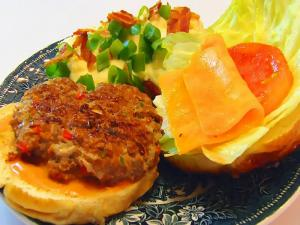 Betty's Labor Day Meatloaf Cheeseburgers