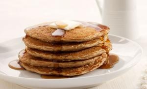 Wheat Germ Pancakes