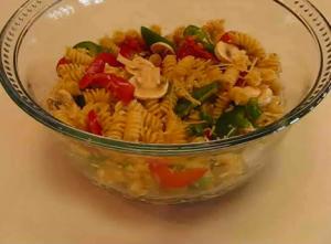 Speedy Perky Pasta Salad
