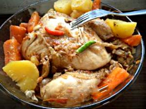 Boiled Chicken