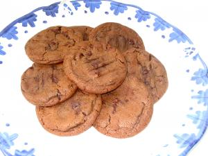 Chewy Chocolate, Chocolate Chip Cookies