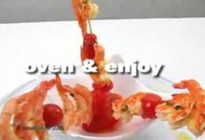 Grilled Prawn Kebabs