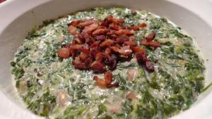 Indian Creamed Spinach