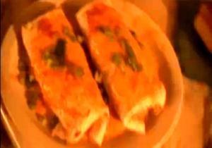 Refried Beans Burrito
