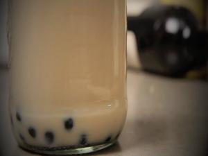 Taiwanese Bubble Tea - Jasmine Milk Tea with Boba