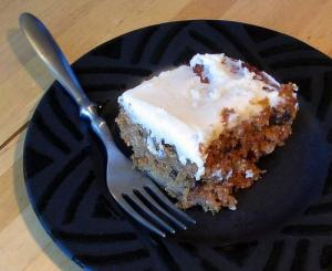 No Egg Carrot Cake