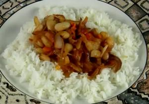 Rice And Cannellini Beans