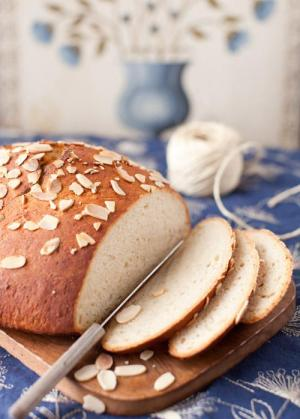 Almond Bread With Kirsch