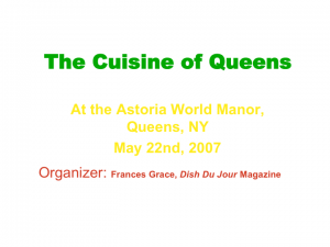 Interviews with Chefs Sal and Marcus Samuelsson