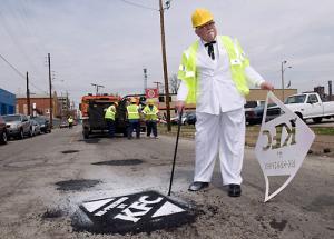 KFC –Patching potholes! Thinking beyond food!