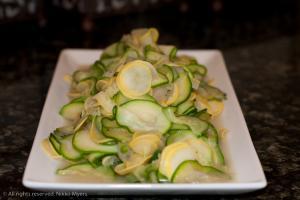 Zucchini Squash and Onions