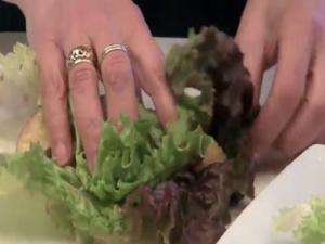 VitaMix Waldorf Lettuce Wraps