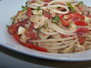 Clams Casino Spaghetti