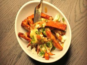Sweet Potato Poutine Recipe - Canadian Favourites