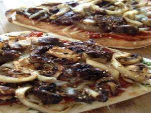 Bulgogi (Korean BBQ ) Pizza