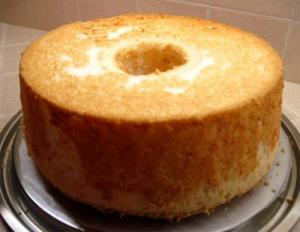 Honey Angel Cake