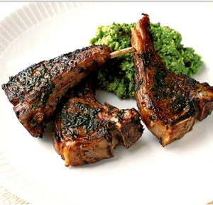 Broiled Lamb Chops