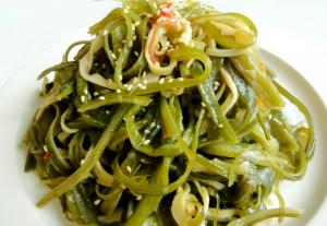 Korean Sauteed Sea Plant