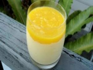 Low Fat Mango Surprise - 3 Ingredients
