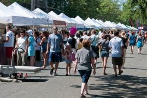 The fun filled Ballard Seafood Festival