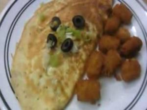 Mozzarella & Olives Omelet