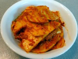Korean Food Kimchi Cucumber Kimch Oi Sobagi And Turnip Kimchi Ggakdughee Kimchi