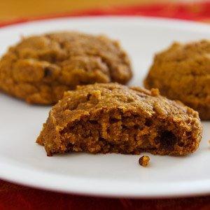 Pumpkin cake cookies make healthy desserts