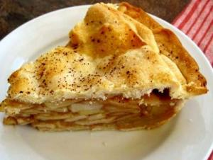Eight Cup High Apple Pie