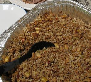 Pecan Turkey Stuffing
