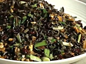 Wild Rice Salad - Quick and Easy Wild Rice Salad with Cranberry